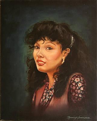 Painting - The Smile by Rosencruz  Sumera