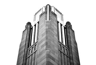 Photograph - The Smith Center Las Vegas 3 Black And White by Matt Harang