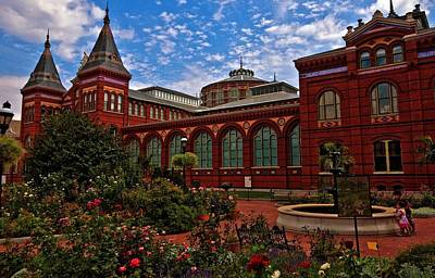 Photograph - The Smithsonian  by John Harding