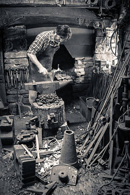 Photograph - The Smithy  by Stewart Scott