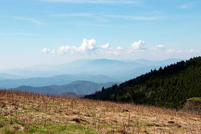 Photograph - The Smokies From Roan Mountain II by Jeff Severson