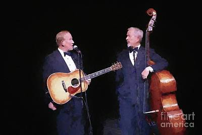 Photograph - The Smothers Brothers Painting by Concert Photos