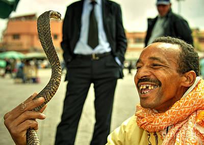 The Snake Charmer  Art Print