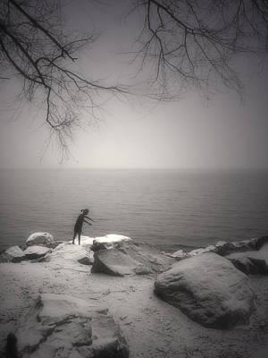Photograph - The Snow Gatherer by Tara Turner
