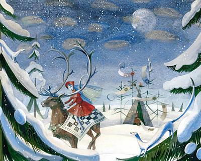 The Snow Queen Original by Victoria Fomina