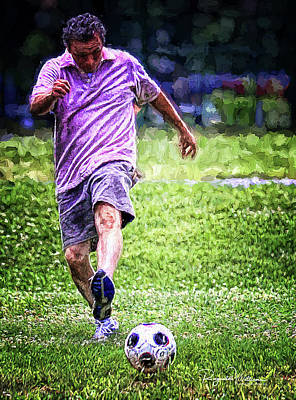 Photograph - The Soccer Player by Reynaldo Williams