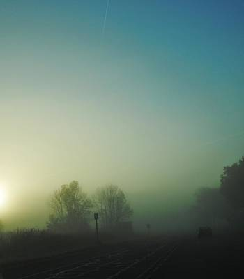 The Soft Fog Of A Fall Morning Original by Laura Pineda