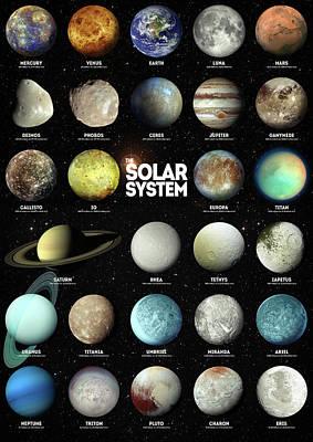 Digital Art - The Solar System by Zapista Zapista