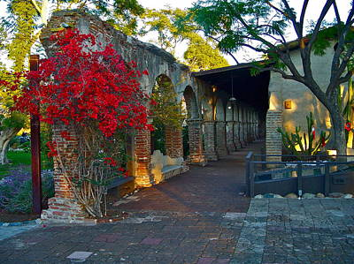 Photograph - The Soldiers Barracks San Juan Capistrano Mission California by Karon Melillo DeVega