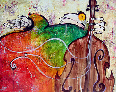 The Soloist Art Print by Mark M  Mellon