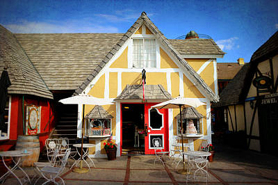 Photograph - The Solvang Bakery - Small Town America by Glenn McCarthy Art and Photography