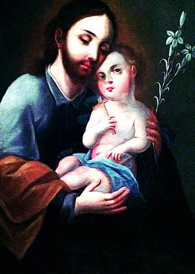 Baby Jesus Digital Art - The Son by Munir Alawi