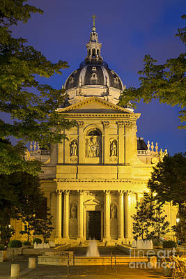 Photograph - The Sorbonne - Paris by Brian Jannsen