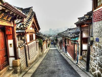 The Soul Of Seoul Print by Michael Garyet