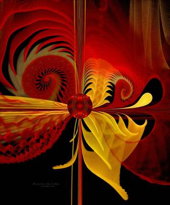 Apo Digital Art - The Soul Sees What Is Within by Gayle Odsather