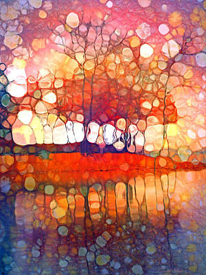 The Souls Of Trees Print by Tara Turner