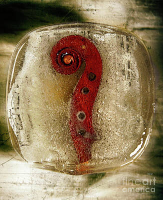 Violin Digital Art - Representing The Ice Age In Sound by Steven Digman