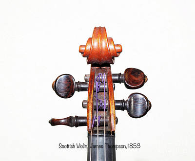 Fiddle Photograph - The Sound Of 1853 by Steven Digman