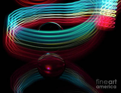 Photograph - The Sound Of Light 3 by Bob Christopher