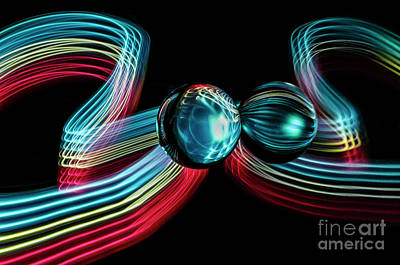 Photograph - The Sound Of Light 5 by Bob Christopher
