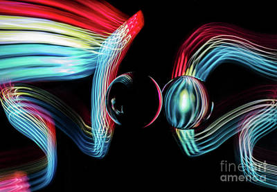 Photograph - The Sound Of Light 6 by Bob Christopher