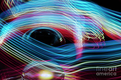 Photograph - The Sound Of Light 1 by Bob Christopher