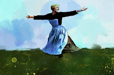 Novel Painting - The Sound Of Music by Dan Sproul