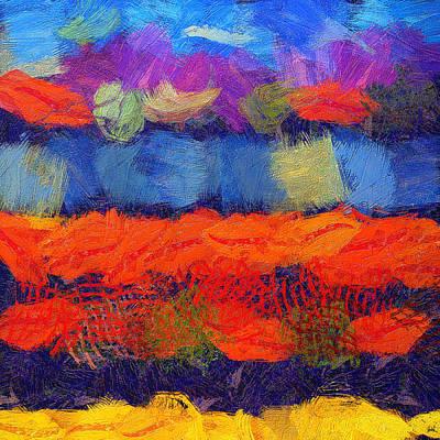 The Sound Of Silence C 2  - Painting Original by Sir Josef - Social Critic -  Maha Art