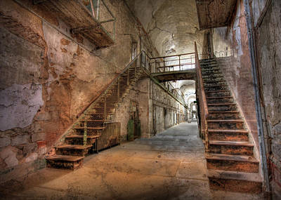 Eastern State Prison Wall Art - Photograph - The Sound Of Silence by Lori Deiter