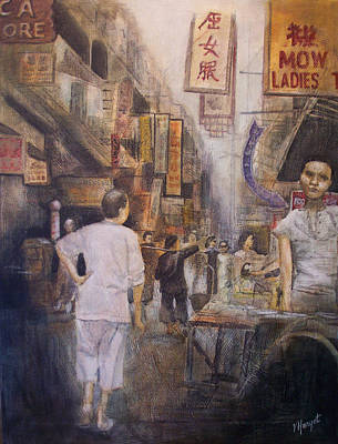 The Soup Seller Art Print by Victoria Heryet