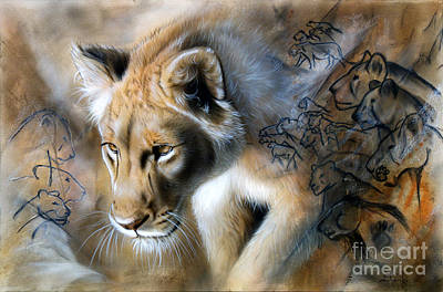 Airbrush Painting - The Source by Sandi Baker