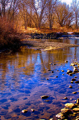 The South Platte River II Art Print