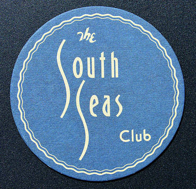 Photograph - The South Seas Club Coaster by David Lee Thompson
