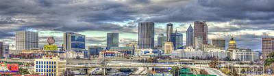 Photograph - The Southern Lady Atlanta Art Cityscape  by Reid Callaway