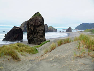Photograph - The Southern Oregon Coast by Joe Schofield