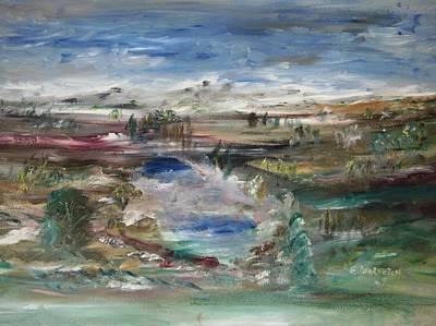 The Southfork Pond Art Print by Edward Wolverton