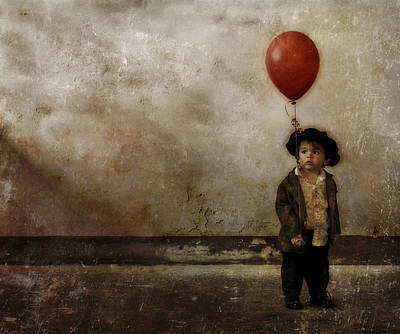 Waif Photograph - The Souvenir by T J Hankins