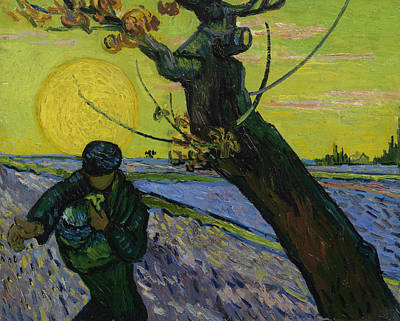 Painting - The Sower by Vincent van Gogh