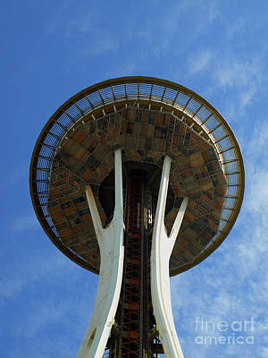 Photograph - The Space Needle by Mary Capriole