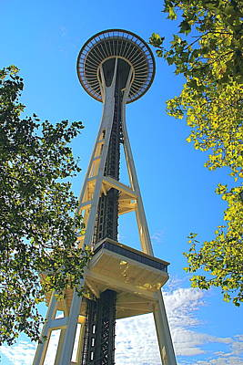 Photograph - The Space Needle by Todd Kreuter