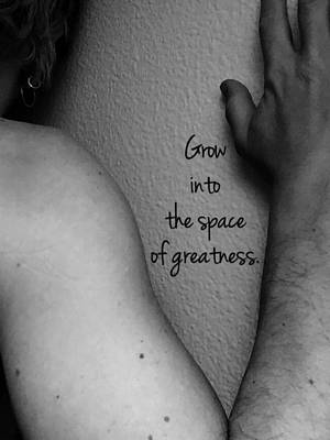 The Space Of Greatness Art Print by Sara Young