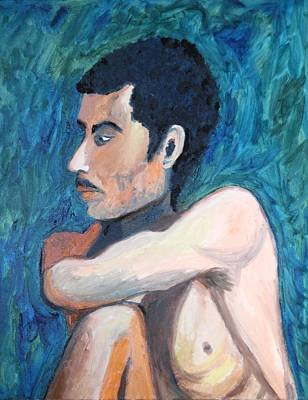 Painting - The Spaniard by Esther Newman-Cohen
