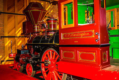 Old West Photograph - The Special C.p. Huntington Train by Garry Gay