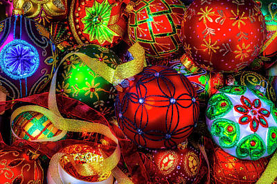 Photograph - The Special Ornaments Of Christmas by Garry Gay