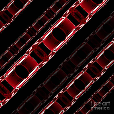 Digital Art - The Speed Of Traffic - Ferrari F40 by David Marchal
