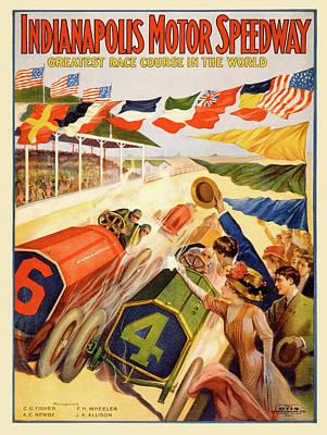 Digital Art - The Speedway by Gary Grayson
