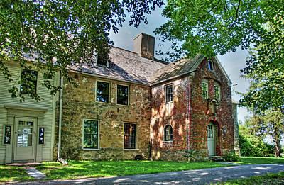 The Spencer-peirce-little House In Spring Art Print