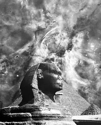 The Sphinx Mistery Art Print