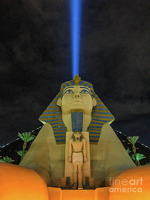 Photograph - The Sphinx Of Vegas by Jason Sullivan