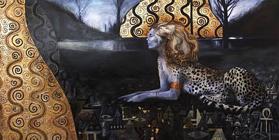 Painting - The Sphinx by Ragen Mendenhall